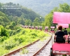 【南韓旅遊】江原道Railbike騎腳踏車一生一定要踩一次♥ Running Man節目場景之一好好玩❛◡❛✿