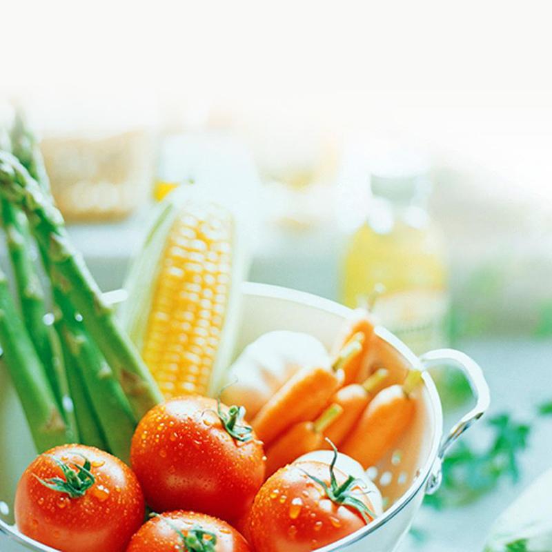 飲食均衡多菜少肉