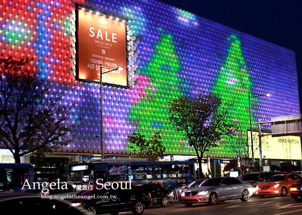 【首爾旅遊】耶誕節這樣過~狎鷗亭★The Galleria百貨之Xmas彩燈超美!Vs.島山公園玩【楓】了