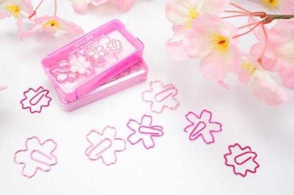 櫻花迴紋針