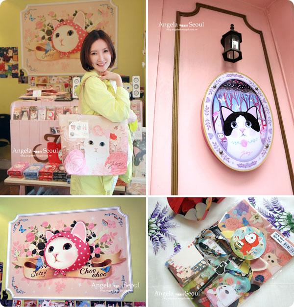 【首爾旅遊】Jetoy甜蜜貓 ♥ CHOO CHOO 萌爆了 ♥ 梨大Vs.狎鷗亭總店제토이압구정본점