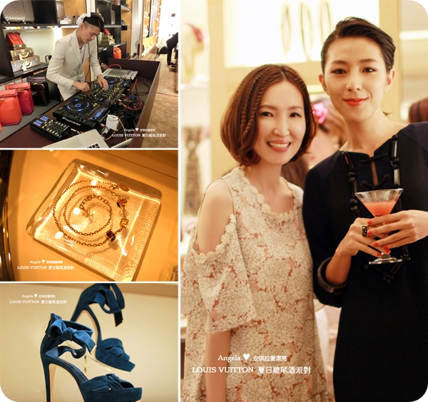 【Fashion】LOUIS VUITTON 2014 夏日雞尾酒派對 ♥ 路易威登微風廣場