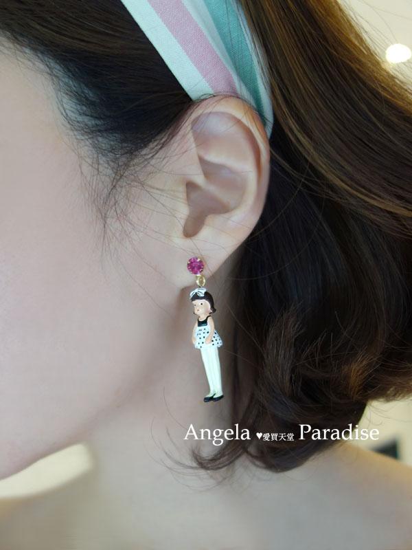 娃娃耳環2