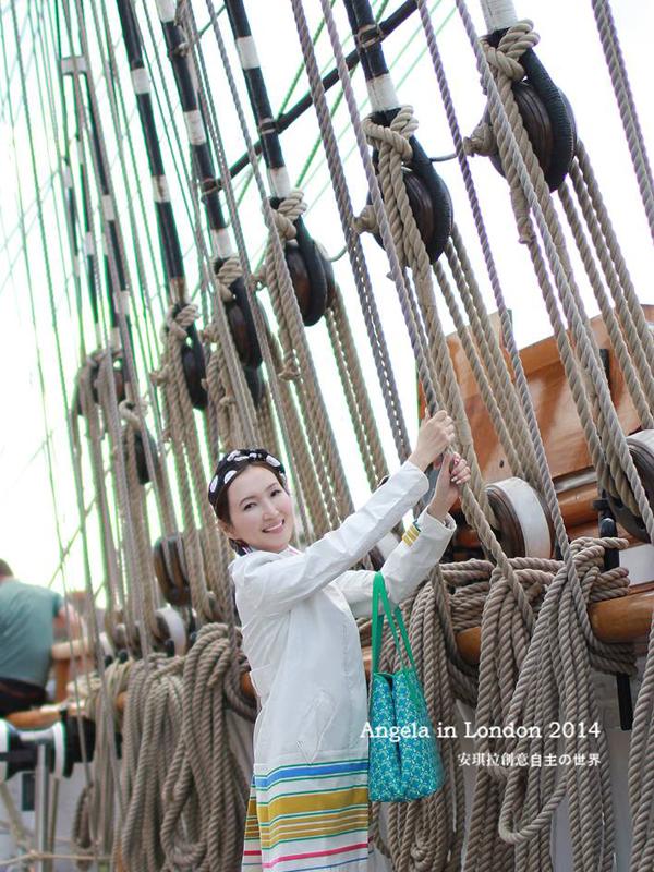 【英國旅遊】倫敦格林威治碼頭 Greenwich Cutty-Sark 卡提沙克號(船博物館)好威啊!