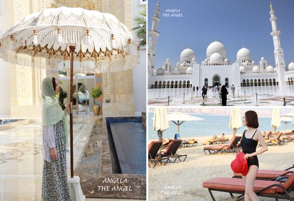 【杜拜旅遊】夢想無極限~棕櫚島土耳其皇宮酒店 ♥ 阿布達比最美的清真寺