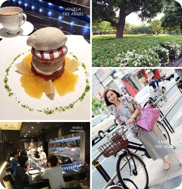 【東京】ANA全日空初體驗✿六本木Toshi Yoroizuka現做美味甜點 ミッドタウン(Tokyo Midtown)