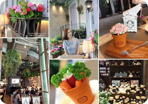 【曼谷自由行】高貴不貴✿姊妹淘最愛~超浪漫歐洲花園餐廳Audrey Cafe des Fleurs✿驚見BAOBAO包