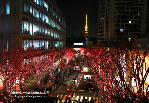 【東京】2015超夢幻六本木聖誕點燈✿Roppongi Hills旁之櫸樹坂大道 けやき坂通り
