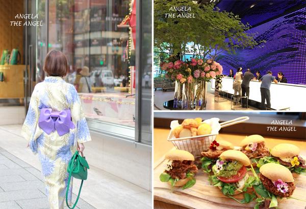 【東京銀座】WJS ginza浴衣體驗 Vs.千禧三井花園飯店Millennium Mitsui Garden Hotel Tokyo好時尚 & Me's CAFE & KITCHEN 好吃漢堡~超棒地理環境,精品逛街美食應有盡有!