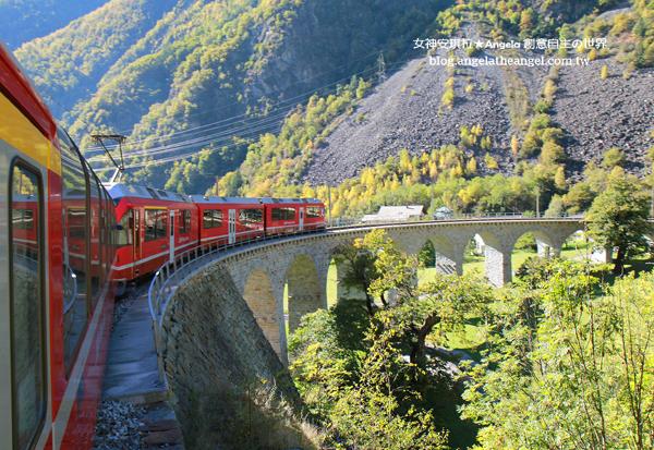 【瑞士旅遊】跟著安琪拉看世界~第3天:達沃斯+伯連納列車+提拉諾-盧加諾*遊船*