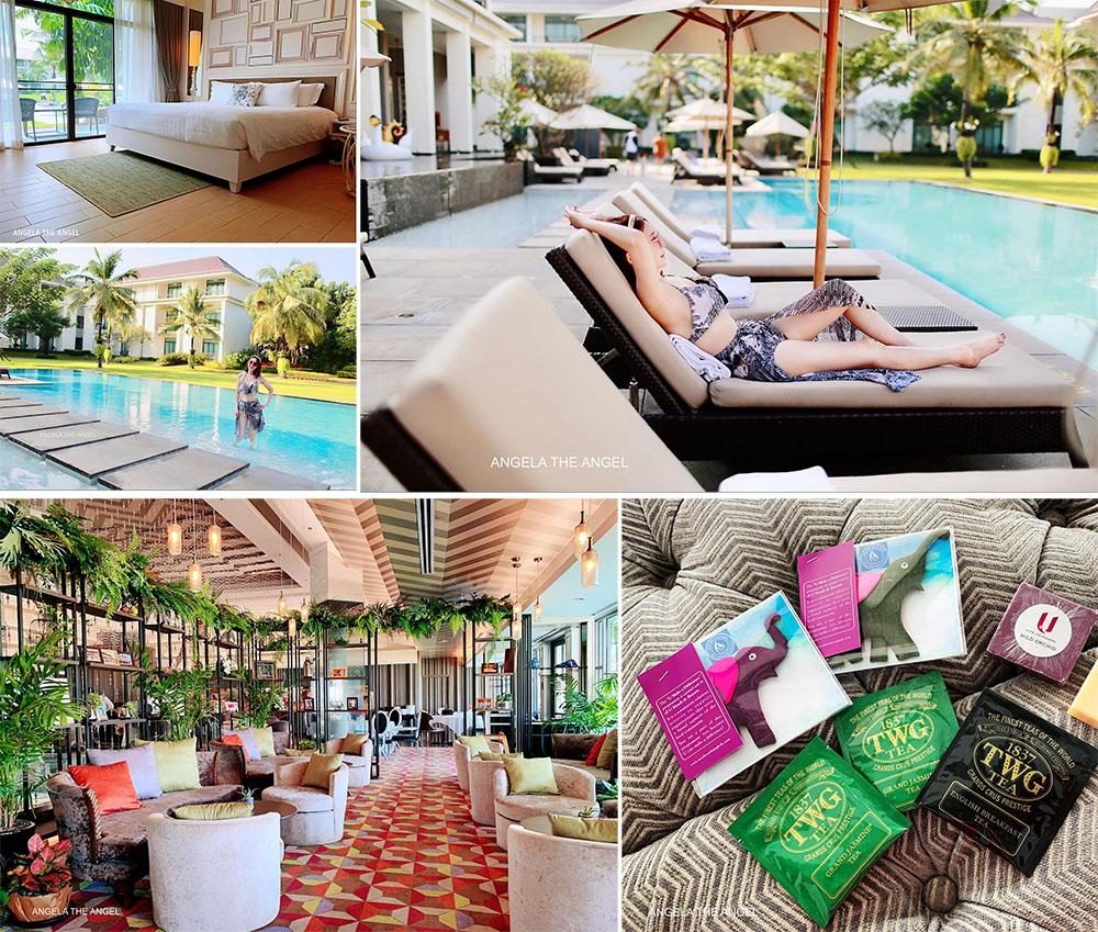 【曼谷吃喝玩樂買】五星飯店平日四晚含早餐僅花費2萬台幣有找? 曼谷沙吞度假村 U Sathorn Bangkok Resort & 2F 法國餐廳獲米其林榮譽&戰利品