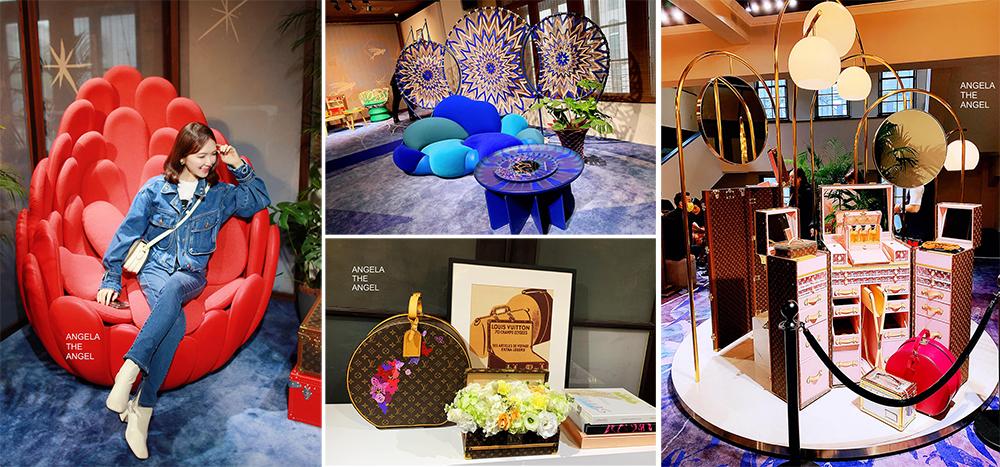 【時尚精品】受邀參加LV路易威登之家~最愛夢幻梳妝台,來自訂製行李箱起家的Louis Vuitton中山堂精品家具特展Vs.戰利品