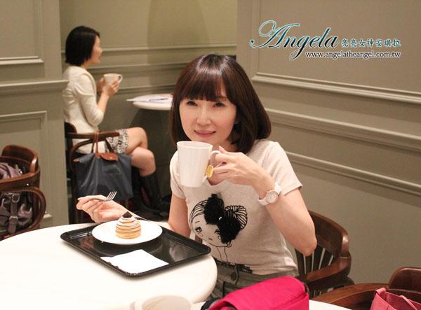 【美食心情】agnès b. CAFÉ L.P.G. 一起跟煩惱說:Bye Bye