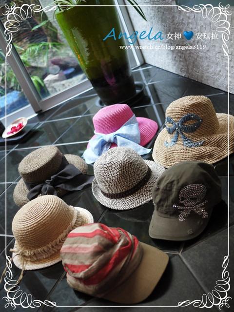【愛物穿搭】My❤多款夏日甜心帽 VS.懶人創意可愛美T。不止年輕5歲^^
