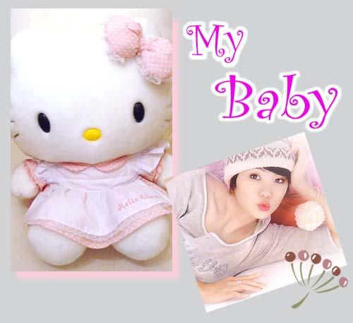 我的寶貝~ Hello Kitty 與 Ella