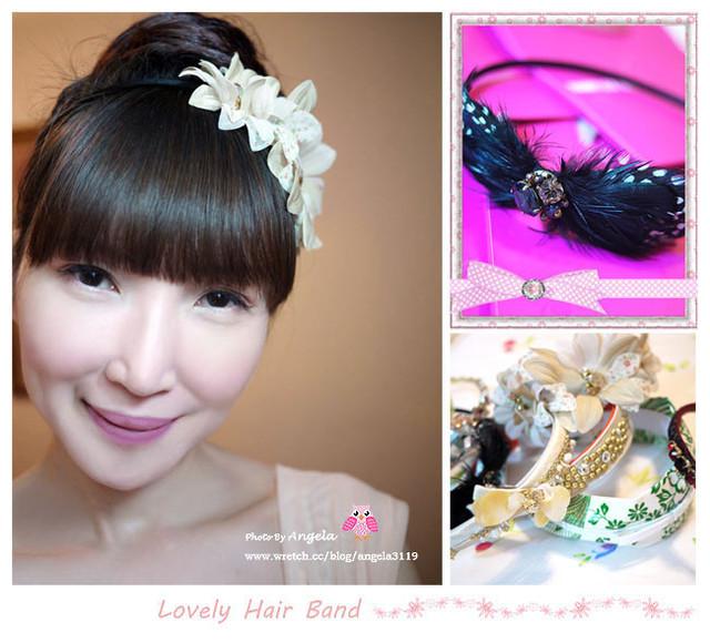 【飾品愛物收藏】Iam 髮箍狂魔 ❤23款甜美。公主。華麗趴題風隨妳變!
