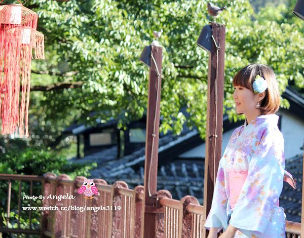 【和服浴衣體驗】這是京都嗎?你猜!扮櫻花妹何必遠赴日本^^
