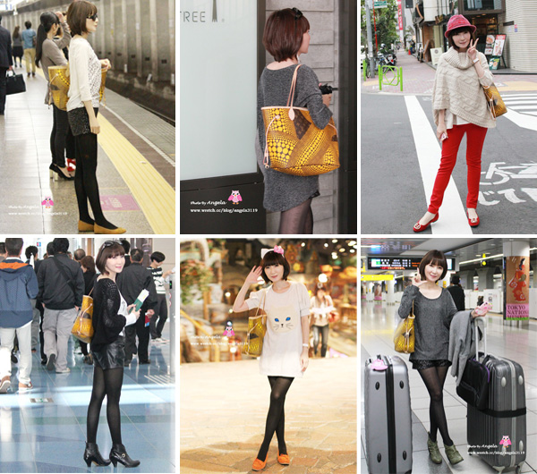 【旅遊穿搭】東京5日VS.輕鬆簡約風5Look