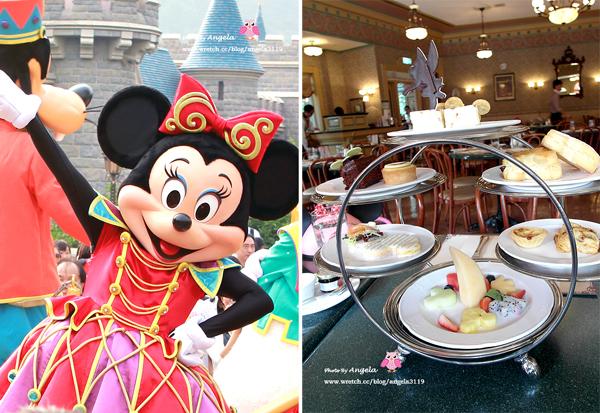 【香港旅遊】迪士尼下午茶VS.主題人物大遊行。Hong Kong Disneyland (下)