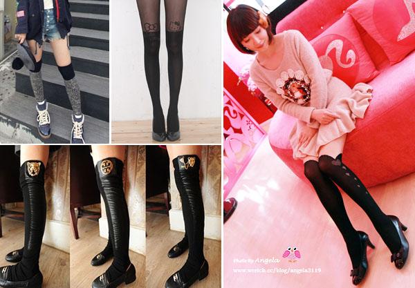 【瘋流行】就愛膝上襪~顯瘦VS.顯腿長必備!