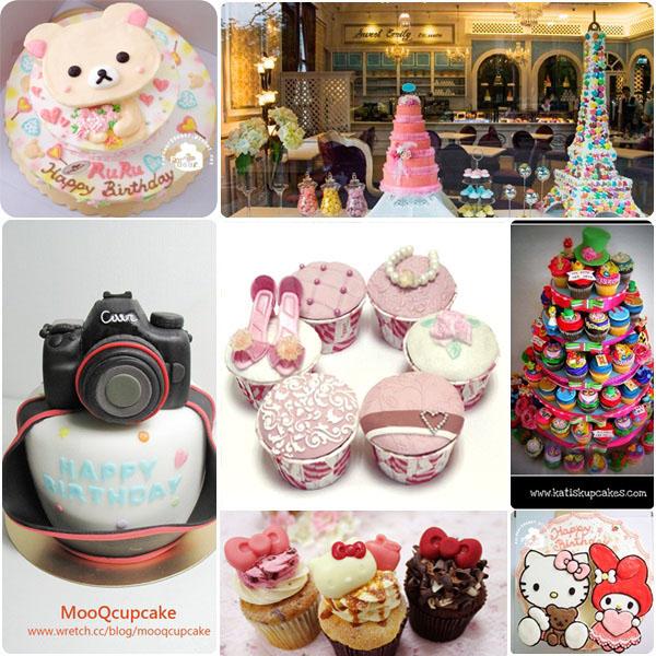 【甜點派對】完全無法抗拒。6家超可愛創意杯子蛋糕大集合!