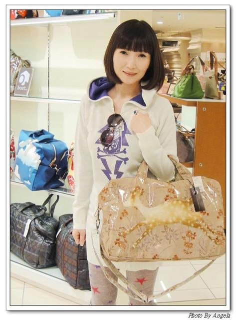 我把梅花鹿帶在身上♥BOST OSAKA JAPAN