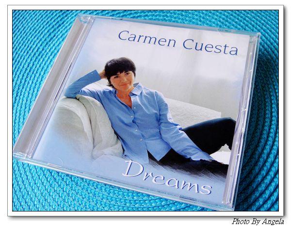 我最喜愛的歌手。水藍色女人Carmen Cuesta