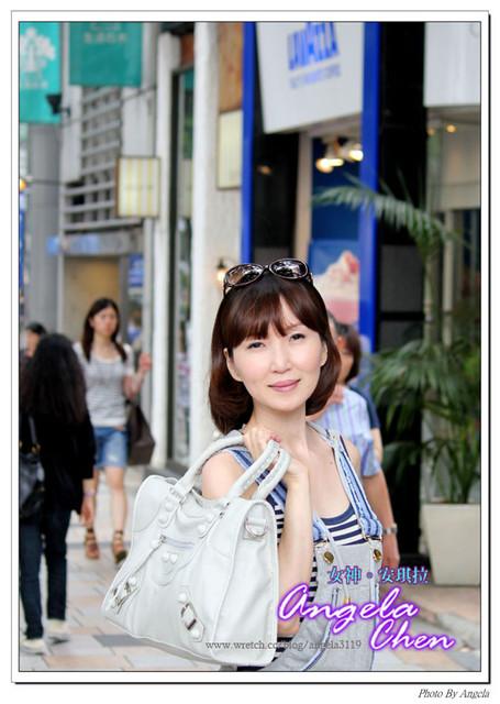 單眼越來越上手。東京街拍老婆大人