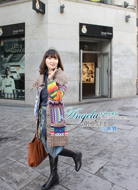 {穿搭}AngelaVS.馬德里街頭美女這樣穿